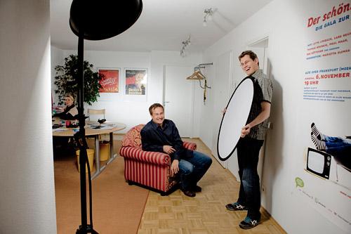 Mario Andreya präsentiert ihnen heute: Den Unterhaltungskanzler Lars Reichow! Applaus, Applaus! :)