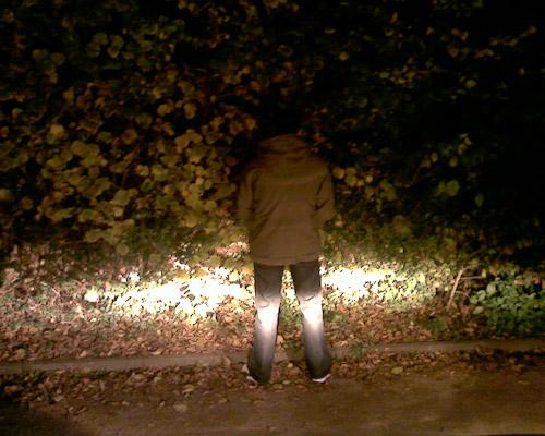 Schöner urinieren mit Max Power Teil 1: Heckenschütze