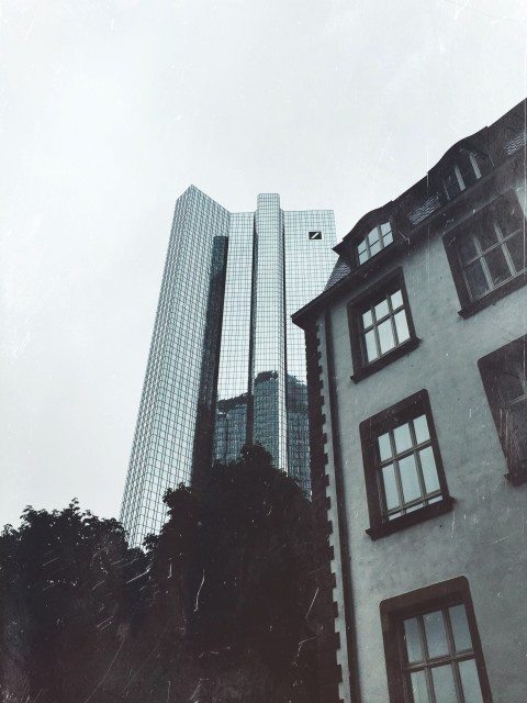 Deutsche Bank Türme & Villa Sander in Frankfurt am Main