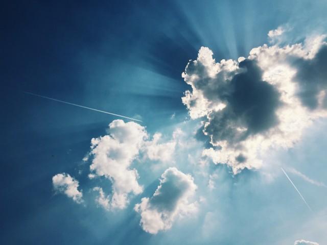 Der Himmel über Raunheim