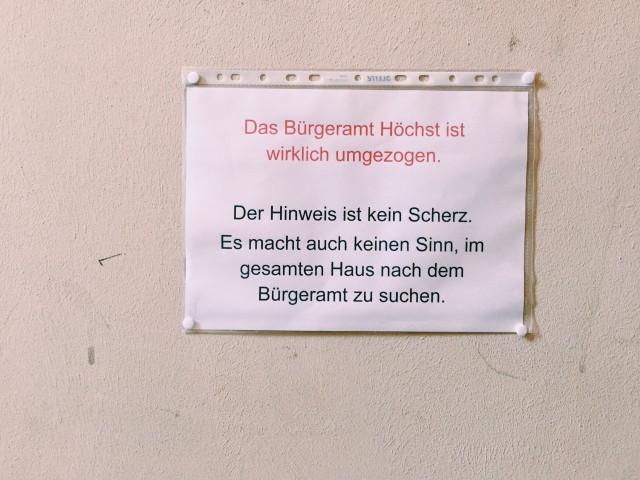 Standesamt Frankfurt-Höchst