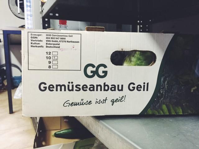 Gemüseanbau Geil