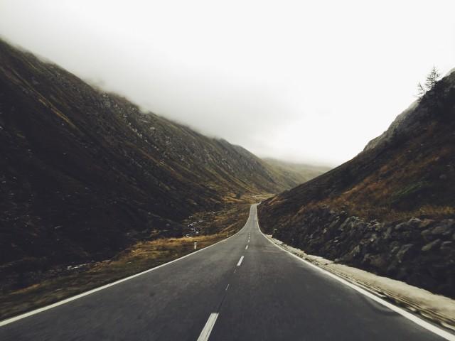 Die Straße nach Italien