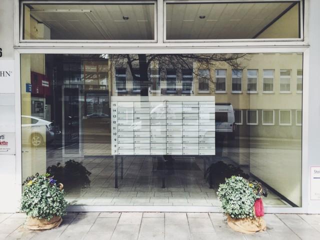 Schaufensterbriefkasten