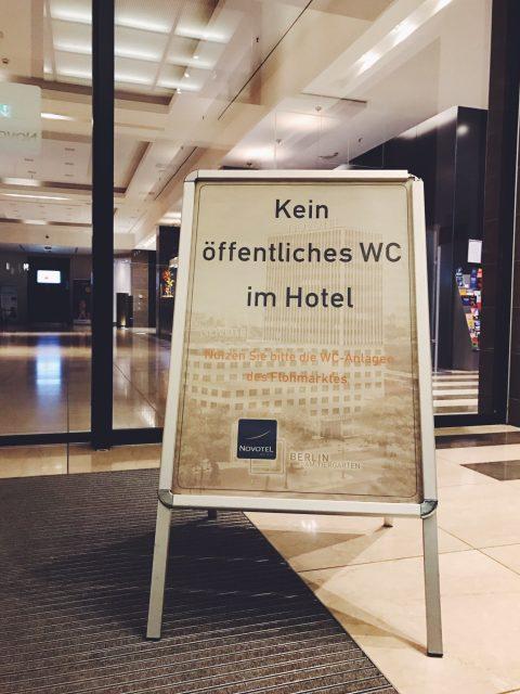 Berliner Gastfreundlichkeit