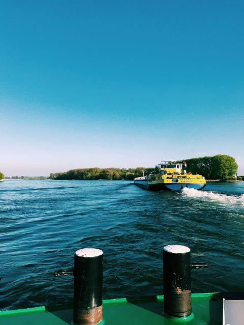 Rheinfähre Kornsand