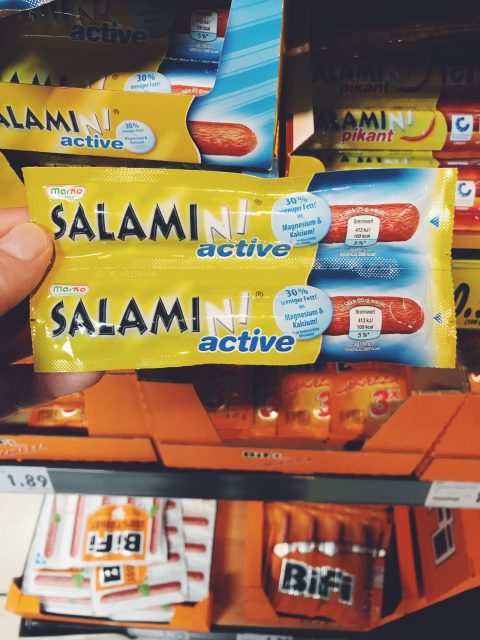 Fitness-Salami