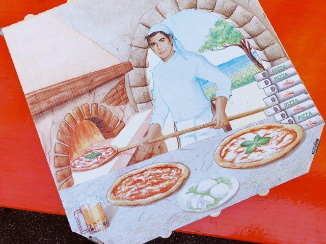 Pizzabäcker George Clooney