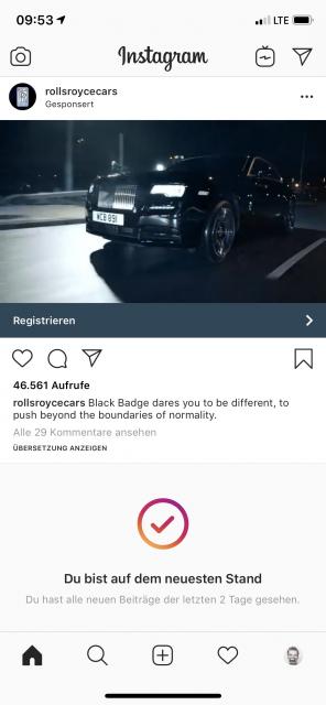 Rolls-Royce wirbt um Opel-Fahrer