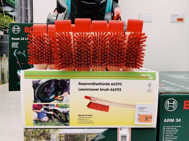 Die Innovation auf dem Bürstenmarkt