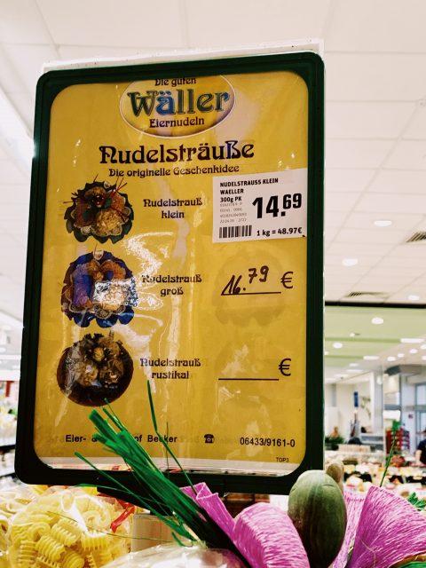 1 Kilo Nudeln für fast 50 Euro