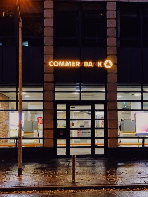 Bei der Commerzbank gehen die Lichter aus