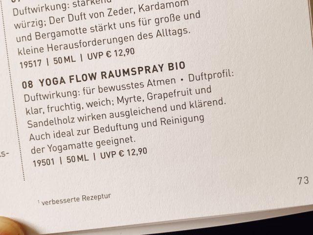 Yoga zum Riechen