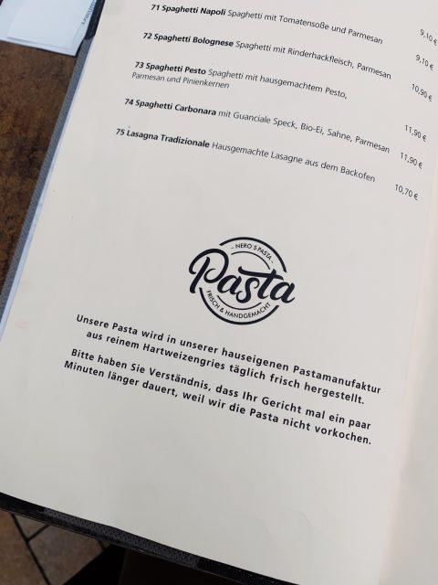 Frische Pasta geht eigentlich schneller